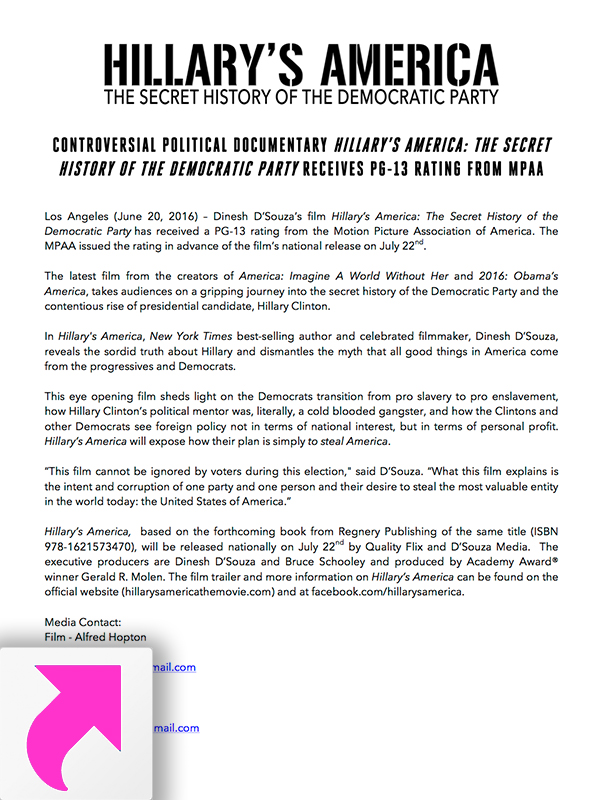 Press Release - MPAA Rating
